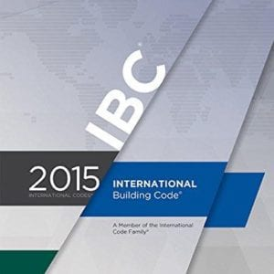The cover of the International Building Code