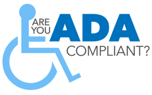 This is an image asking if you are ADA Compliant